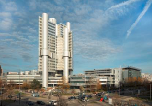 Picture caption: HVB Tower in Munich, copyright: HypoVereinsbank