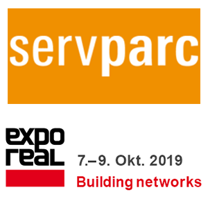 servparc und EXPO REAL 2019